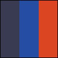 Flame/Mazarine/Navy