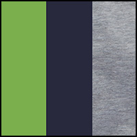 green/heather grey/nav