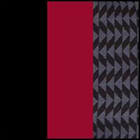 Grey Print/Red/Black