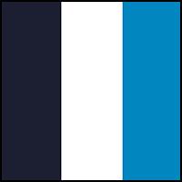 White/Turquoise/Navy