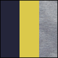 yellow/htr grey/navy