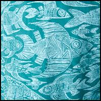 Sketchy Fish Gem Green