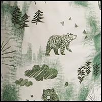 Half Dome Bear: White