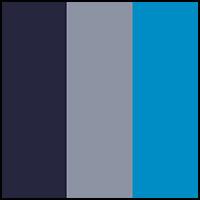 Aluminum/Blue/Navy