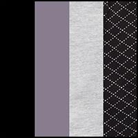 Black/Plat/Gray/Dot