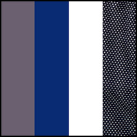 Plat/Blue/White/Print