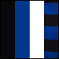 Blue/Stripe/White/Blk