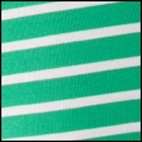 Green/Nevis Stripe
