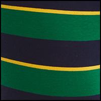 Green Stripe/Yellow