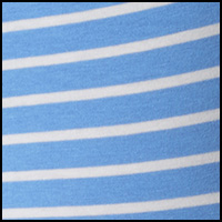 island blue/stripe