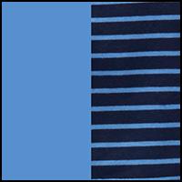 navy stripe/island blu