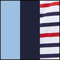 Navy/Pale Royal/Stripe