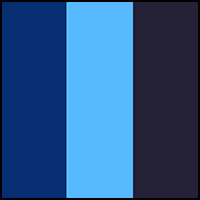Navy/Royal/Colby Blue