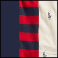 Navy/Stripe/Oatmeal