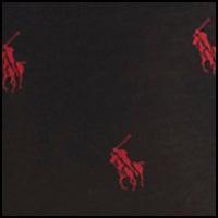 Polo Black/Red Pony