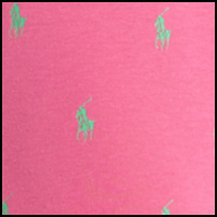 Pink/Flag Green