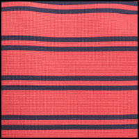 Red/Cruise Navy Stripe