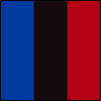Royal/Black/Red