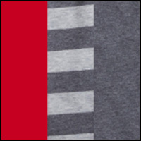 Red/Stripe/Charcoal