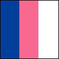 Travel Blue/Pink/White