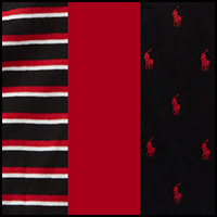 Black/Stripe/Red