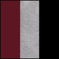 Wine/Black/Grey