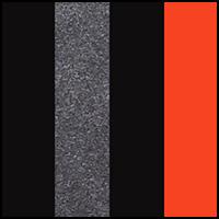 Black/Grenadine/Char