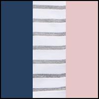 Denim/Stripe/Violetice