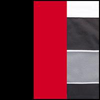 Stripe/Crimson/Black