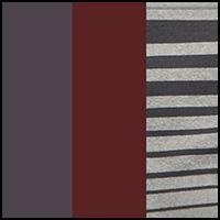 Stripe/Fig/Black