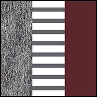 Stripe/Fig/Charcoal
