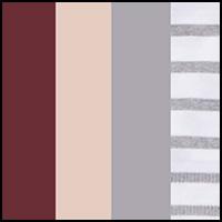 Stripe/Rose/Fig/Char