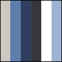 Blue/White Assorted