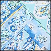 Blue Patchwork