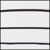 White & Black Stripe