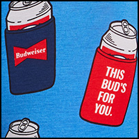 Blue Bud Koozies
