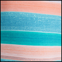 Blue Crossgrain Stripe