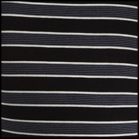 Black Crew Stripe