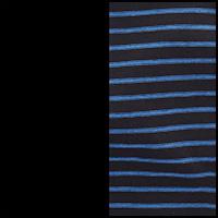 Black/Skipper Stripe