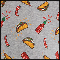 Grey Hot Taco