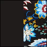 Heritage Floral/Black