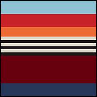 Navy Super Stripe