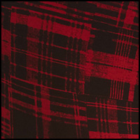 Red Patched Plaid