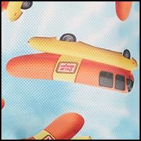 Wienermobile Tie Dye