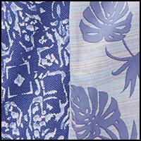 Batik Geo/Stripe Leave