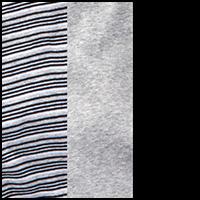Black/Grey/Stripe
