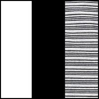 Black/White/Stripe
