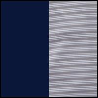 Grey Stripe/Blue