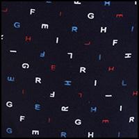 Alphabet Peacoat