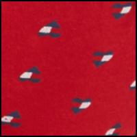 Flag Heart Tango Red